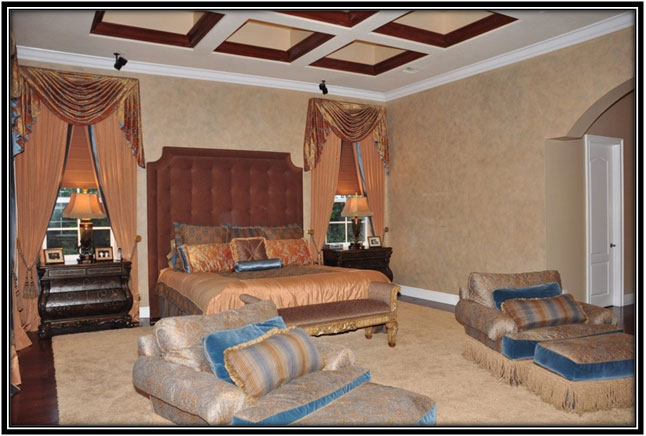 The Suite Bedroom Dwayne Johnsons House Interior