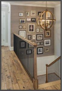 Lights And Frames Small - Basement Design Ideas