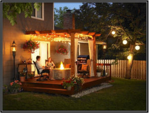 Lights for outdoor