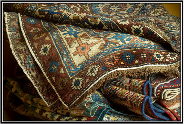 Break Out the Vintage Rugs