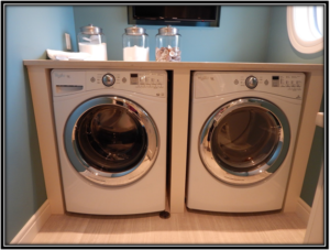 Put In a Countertop over Your WasherDryer