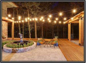 Add Outside Lights for Enjoyable Evenings