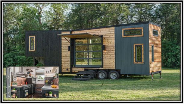 Modern, High-end Tiny House and RV Hybrid