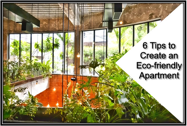 6 Tips to Create an Eco-friendly Apartment