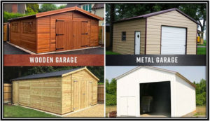 THE DIFFERENCE BETWEEN WOOD AND METAL GARAGE