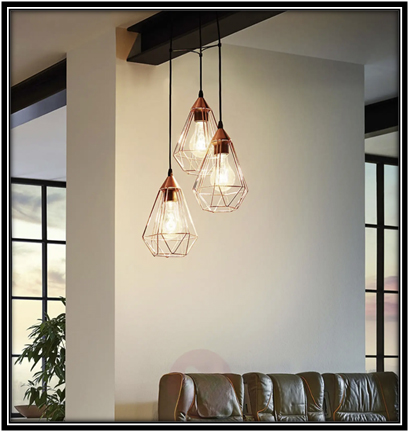 Ceiling lights for small space