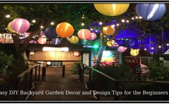 Easy DIY Backyard Garden Decor
