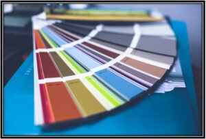 Decide the colour for your walls