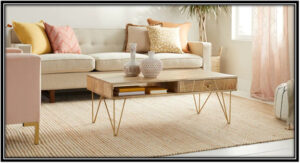 Choose the sofa size correctly, coffee table