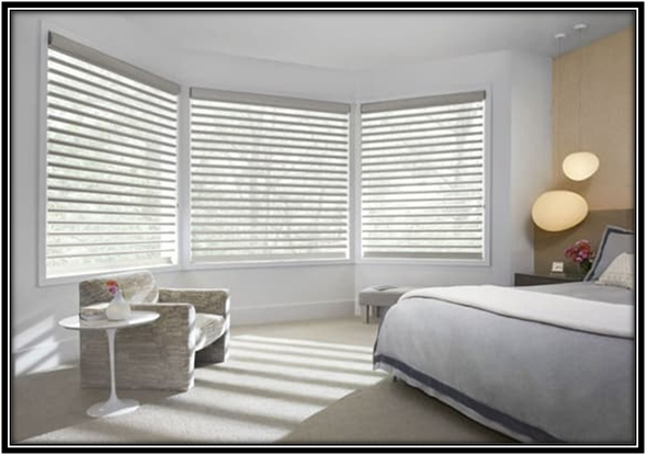 Decorate windows with designer blinds