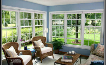 Home With The Double Glazing Windows