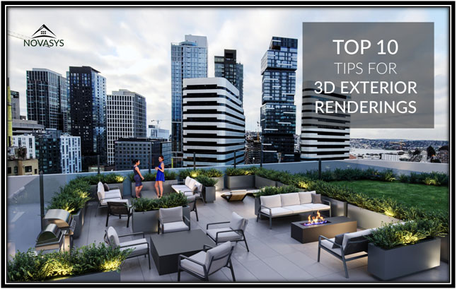 Tips for 3D Exterior Rendering