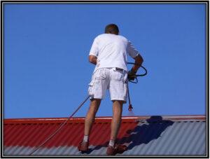 Asphalt Roof Painting