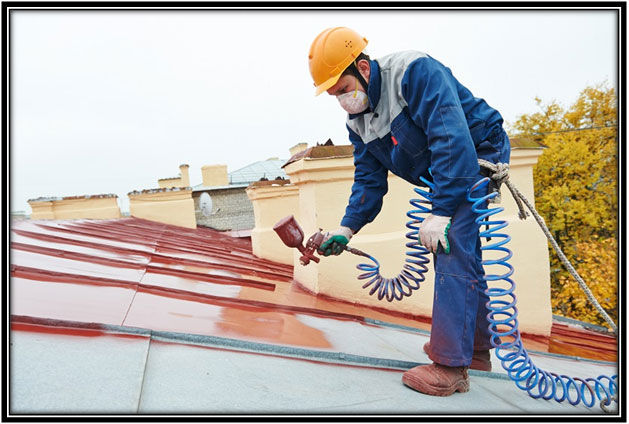 How Roof Painting saves your Roof