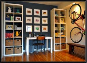 Invest in vertically spaced storage